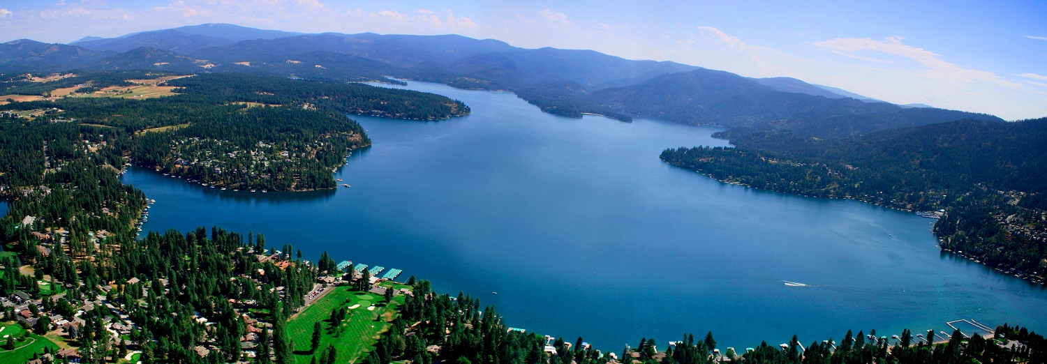 Hayden lake aerial stock pic1500
